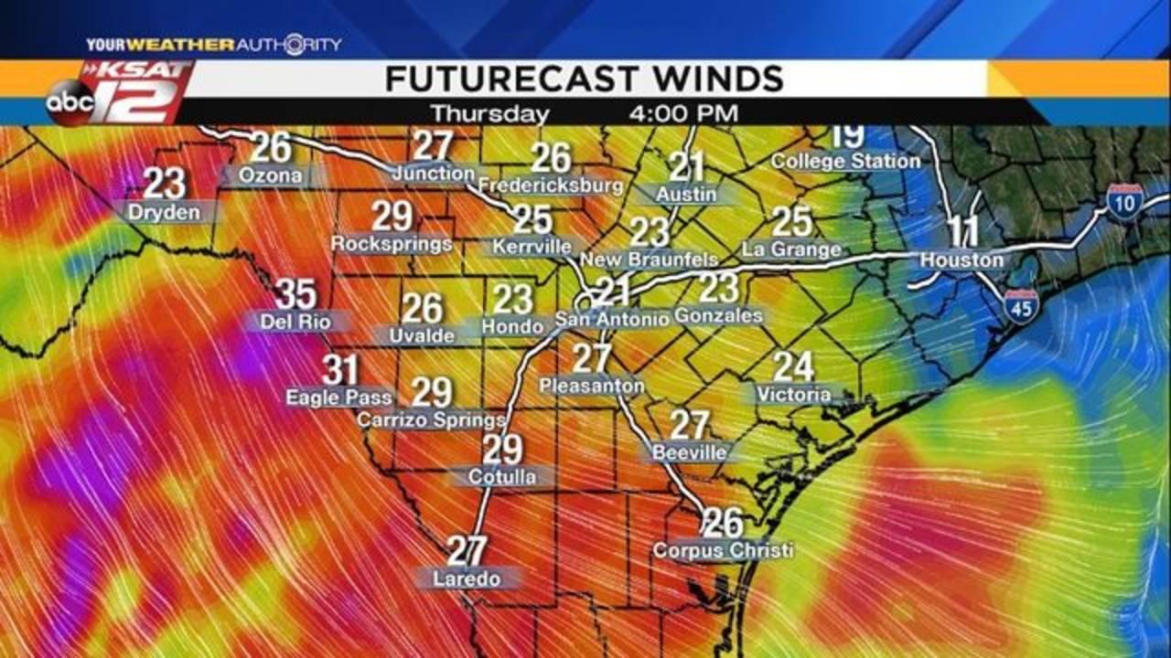 Winds - December 12, 2018