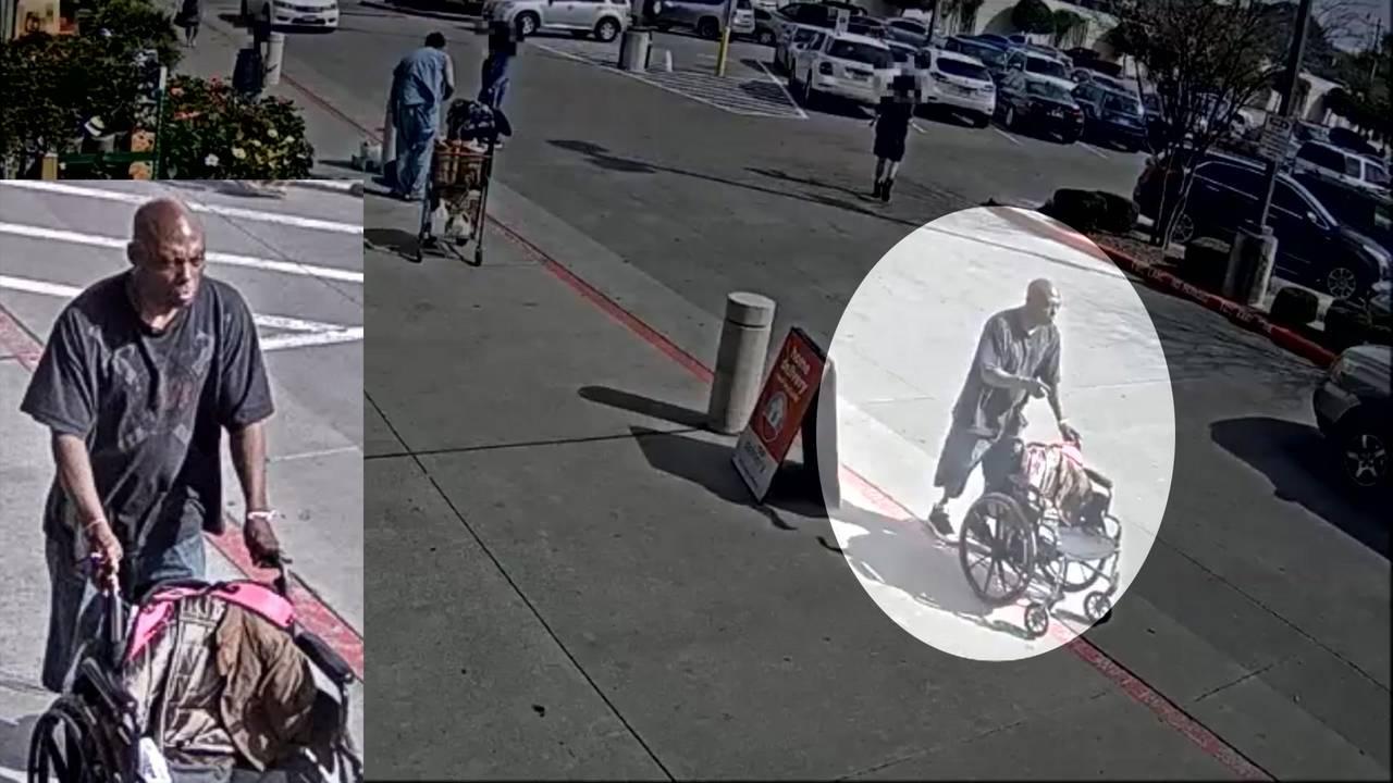 Man caught on camera punching woman at H-E-B