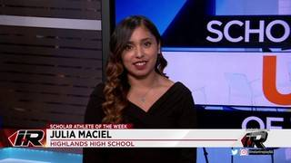 Scholar Athlete: Julia Maciel, Highlands High School