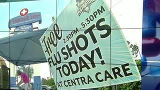 News 6 and Centra Care host final free flu shot event