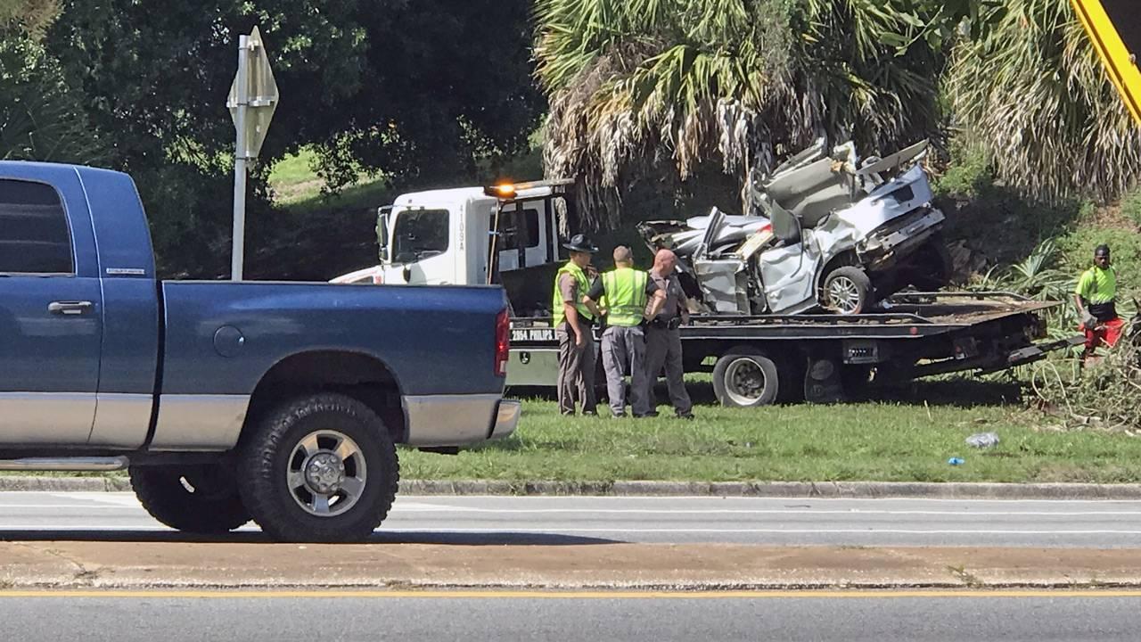 FHP: 2-car crash on I-95 at Eighth Street leaves driver dead