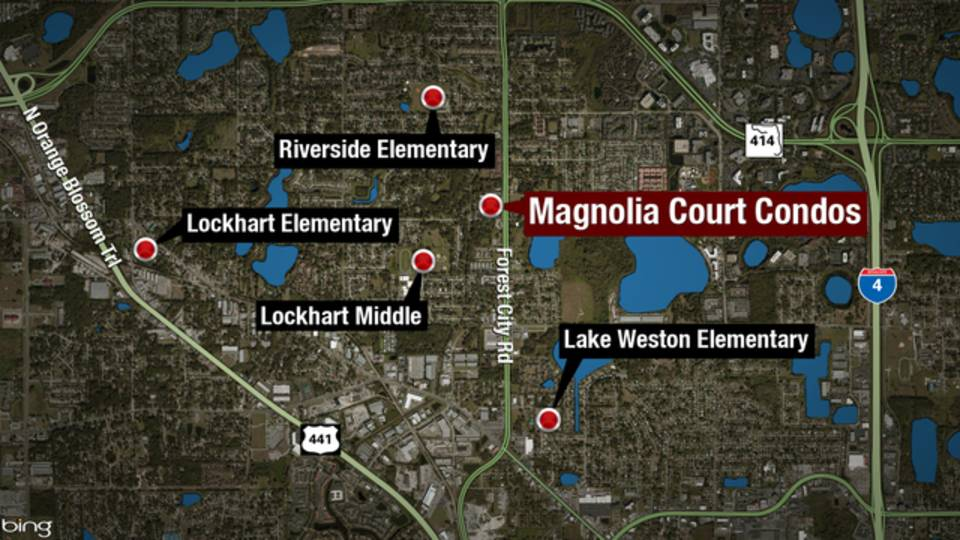 Schools nearby Orlando kidnapping, rape