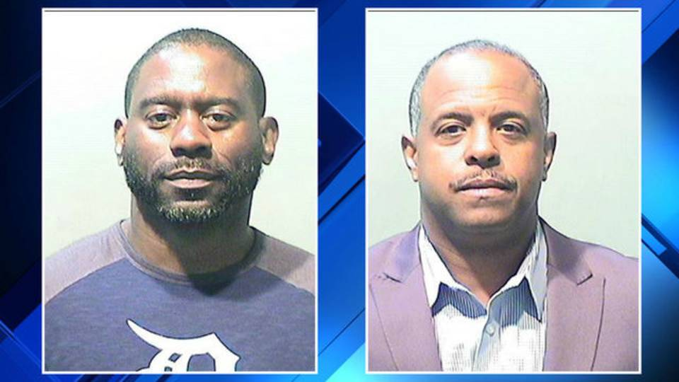 Timothy Leach and Fred Person mugshots