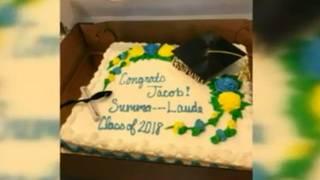 'Summa cum laude' censored on sheet cake