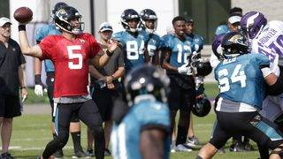 Jaguars passing game getting fresh look against Vikings