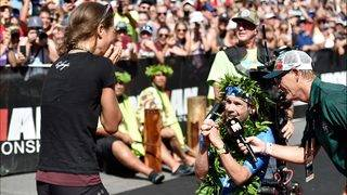 Ironman world champion breaks record, proposes on 'mind-blowing' day