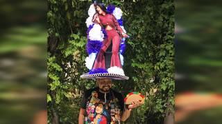 Selena's brother praises Fiesta-goer for massive hat celebrating queen of Tejano