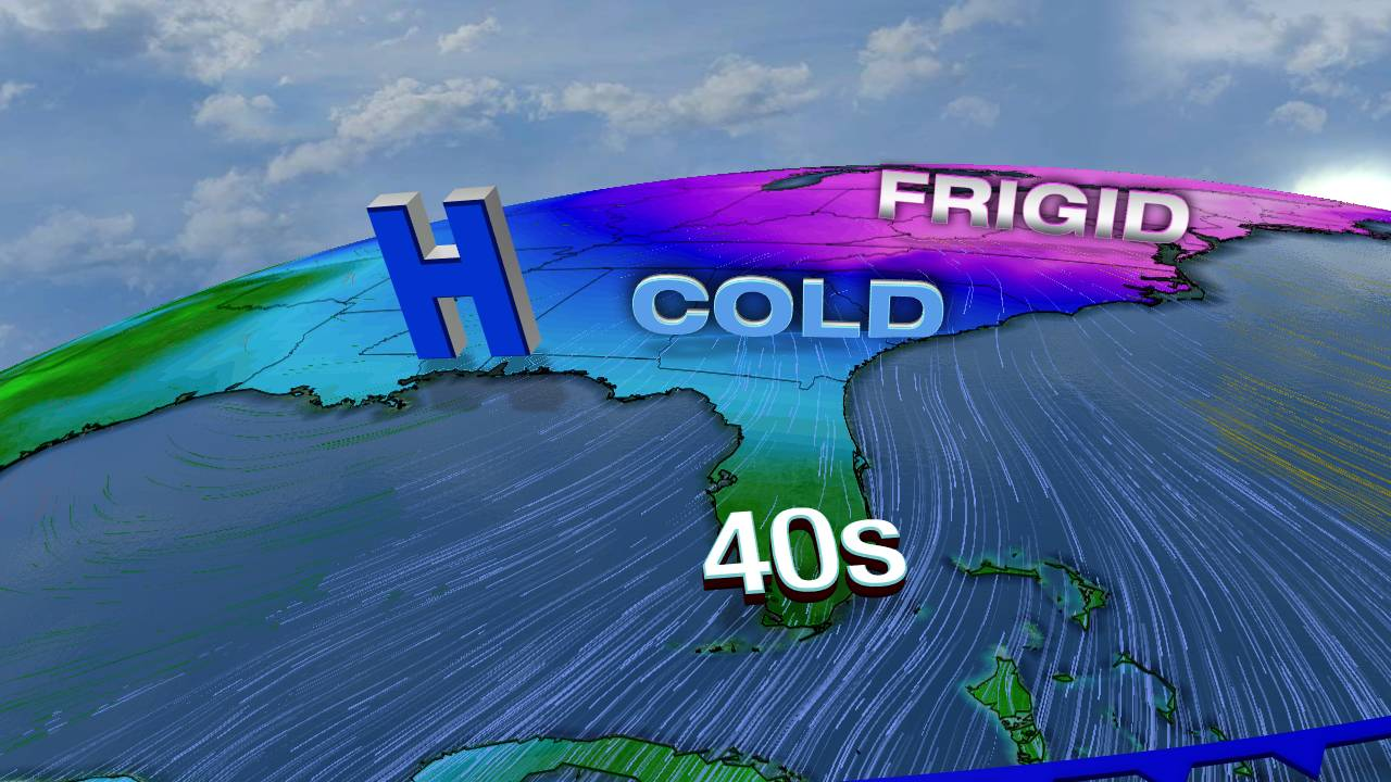 Arctic Blast coming to South Florida