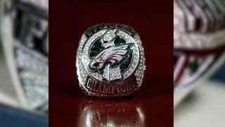 Eagles' Super Bowl ring features 219 diamonds, 17 sapphires