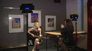 KSAT meteorologist Sarah Spivey uses love of music to overcome hearing&hellip&#x3b;