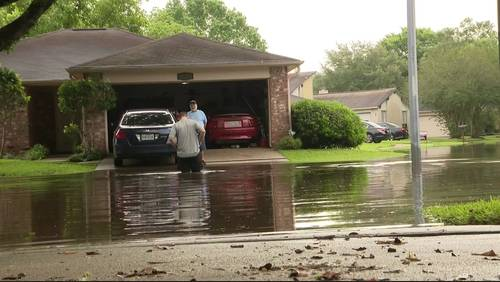 Sugar Land neighborhood recovering after receiving nearly 10 inches of rain