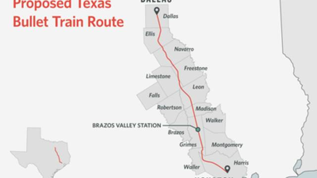 Dallas Houston Bullet Train Critics Want Texas To Oversee