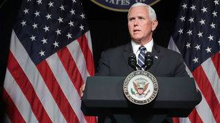 Vice President Pence outlines plan Space Force as 6th military branch by 2020