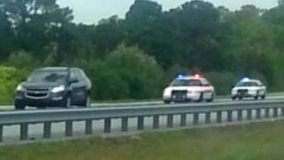 High-speed chase turns into search for 3 burglary suspects