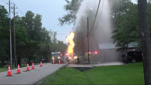 Multiple workers injured in gas line explosion in Santa Fe