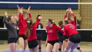 Lord Botetourt takes Class 3 State Volleyball title, beating Tabb