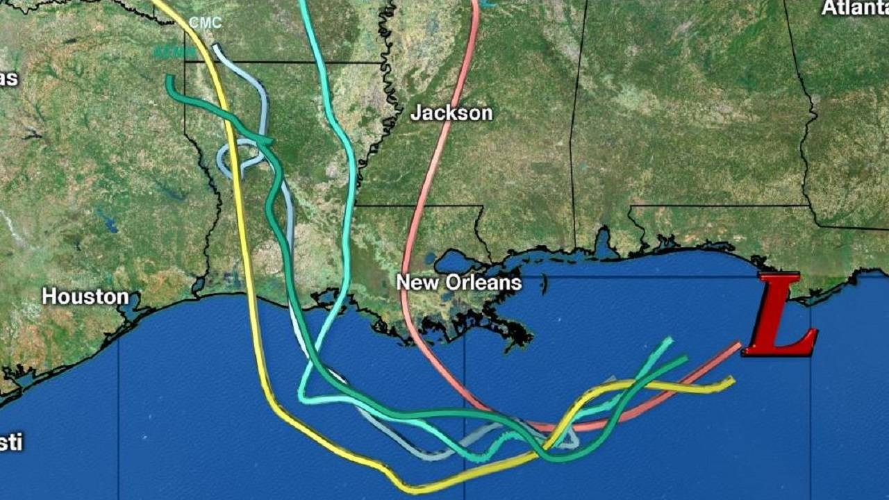 Models for low in Gulf