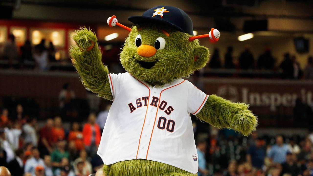 Houston Astros mascot Orbit82629833-75042528