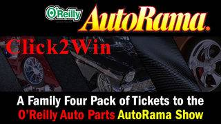 CLICK2WIN: AutoRama Family 4-Pack