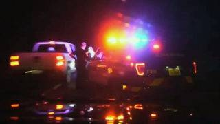 Near miss for Florida deputy, driver on side of road caught on video