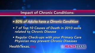 Did you know 50% of adults have a chronic condition?