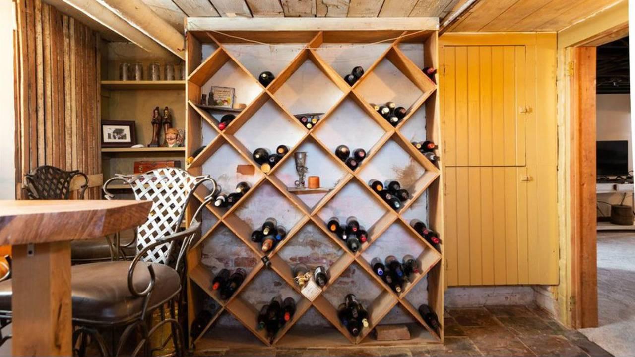 2012 Washtenaw Ave wine cellar