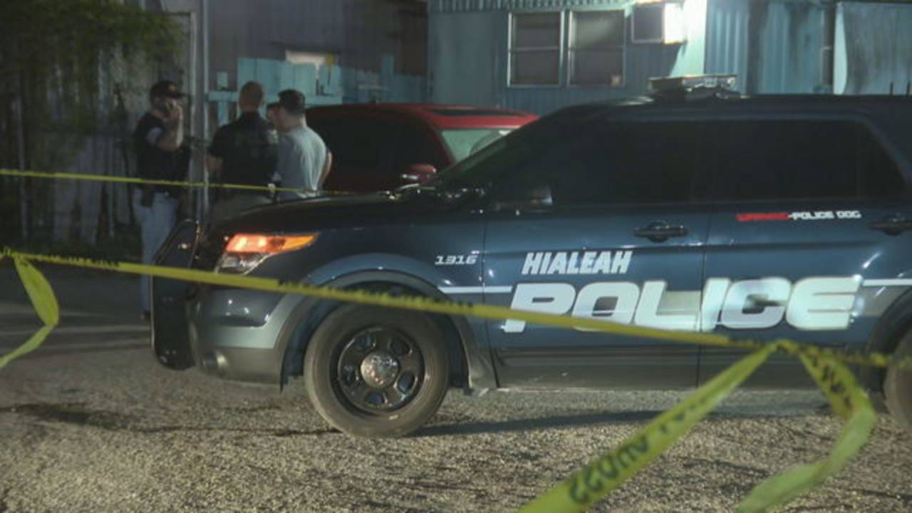 Hialeah police-involved shooting scene Jan. 4, 2019