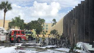 2 dead after plane crashes into autism therapy center, sparks fire