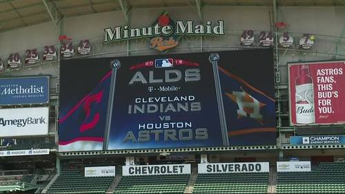 Houston gears up for Game 1 of ALDS Friday at Minute Maid Park