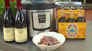 H-E-B Backyard Kitchen: Coq Au Vin
