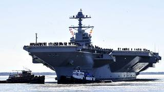 US Navy's most expensive warship just got even pricier