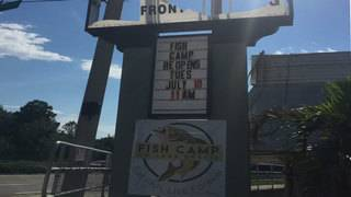 Fish Camp on Lake Eustis Restaurant reopens after July 4th tornado