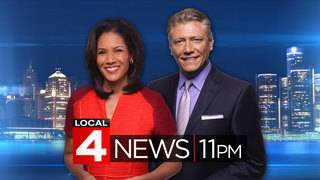 Watch Local 4 News at 11 -- Jan. 23, 2018