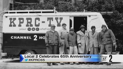 KPRC's 65th anniversary:  Bill Balleza shows how technology has changed