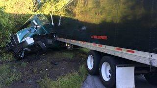 Big rig involved in fatal crash in Clermont