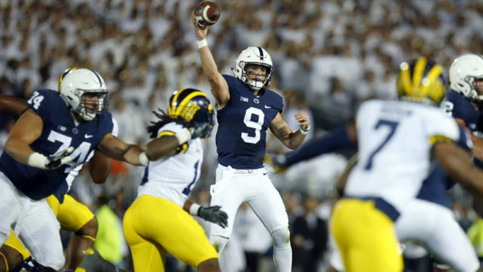 Trace Mcsorley Penn State vs Michigan 2017