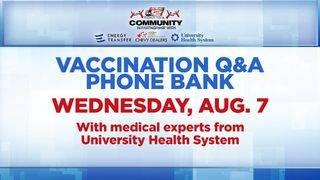 KSAT Community Vaccination Q&A Phone Bank Wednesday