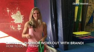 2-Minute Warrior Workout: How To Do A Pull-up