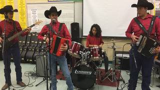 Southside High School students keeping conjunto music alive