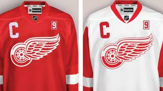 new concept d174c 9a21a Red Wings to honor Gordie Howe with No. 9 patch on jerseys...