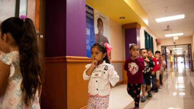 It takes more time than expected to lead a train of 4-year-olds to the cafeteria or bathroom and back to the classroom.