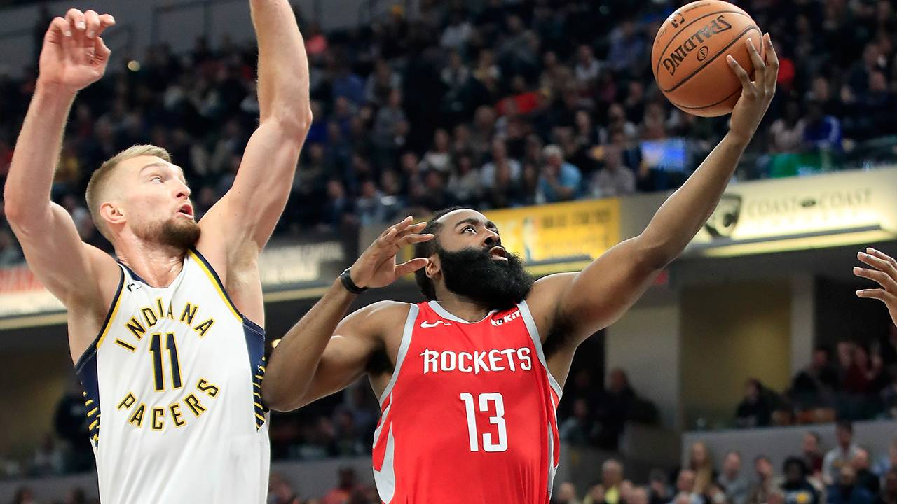 e820428f75c James Harden s late 3 helps Houston rocket past Pacers 98-94