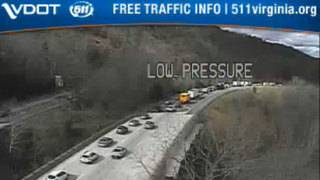 Crash caused delays for drivers on Interstate 81