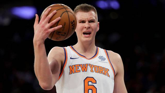 c996330db1a1 Knicks  Kristaps Porzingis suffers torn ACL