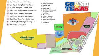 PHOTOS: Grand Texas Theme Park development