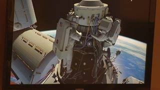 Two American astronauts will set up docking port at ISS