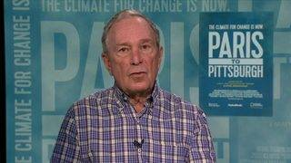 Michael Bloomberg previews new climate change documentary