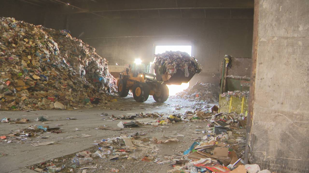 In South Florida, more and more recycling is landfill bound