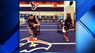 JJ Watt, Deshaun Watson team up for workout in latest Twitter video