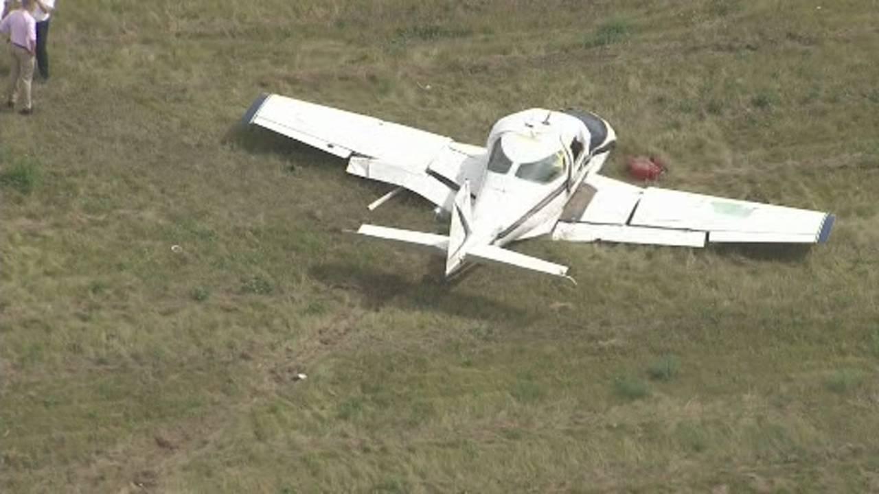Small plane crash Livingston County 3